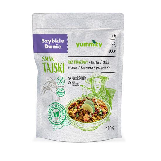 Bezglutenowe szybkie danie smak Tajlandii 180 g Yummity