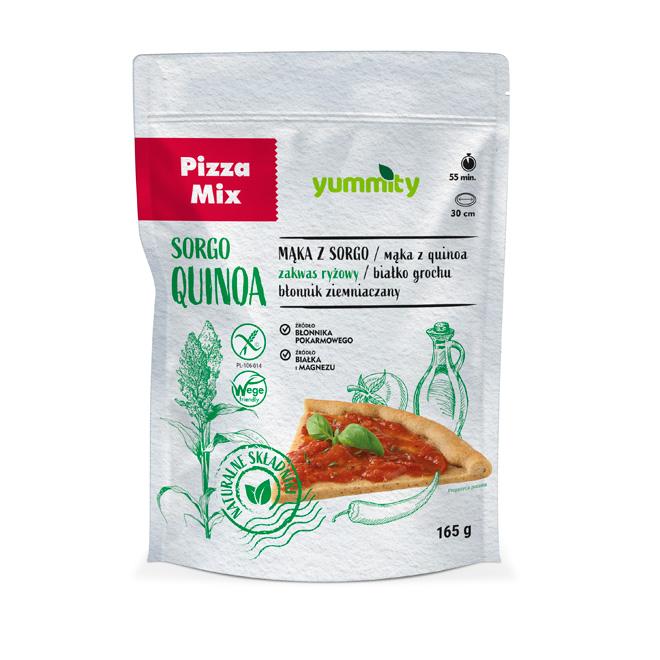 Bezglutenowy spód do pizzy na naturalnym zakwasie 165 g yummity