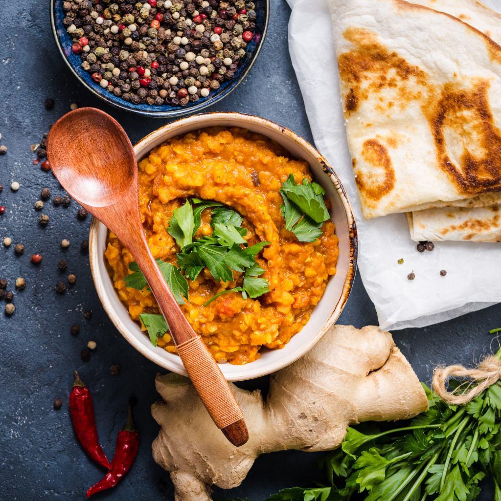Bezglutenowe szybkie danie smak Indii