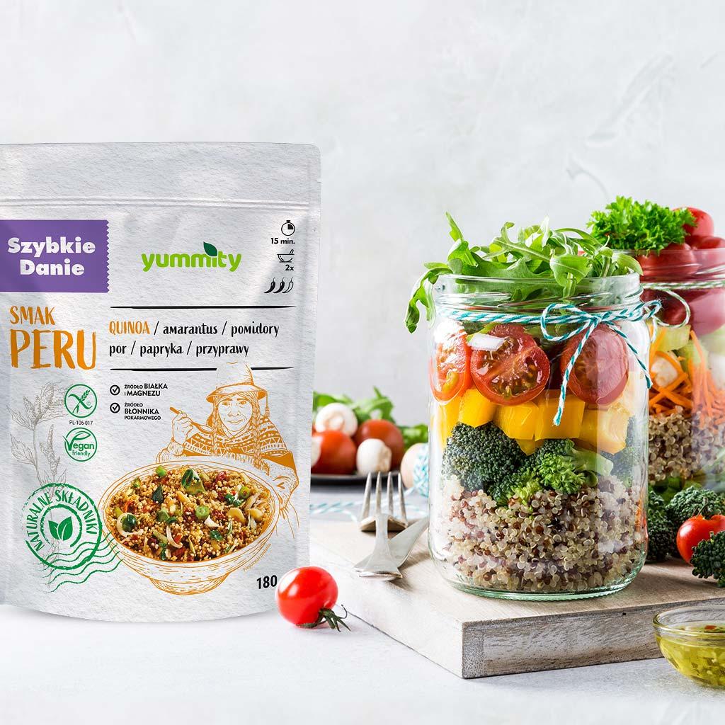 Szybkie danie Peru dieta wegetariańska