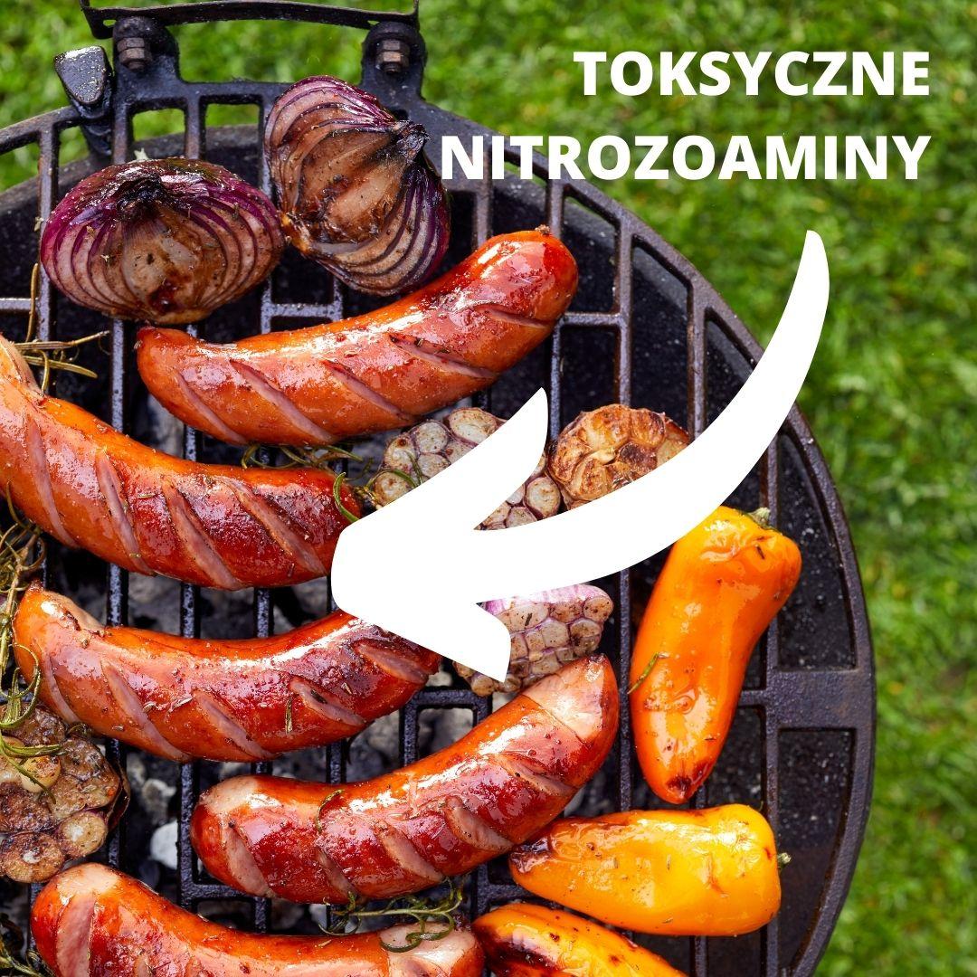 toksyczne nitrozoaminy w grillowanym mięsie