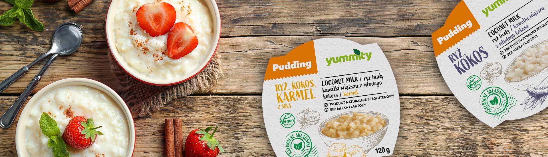 Puddingi ryżowe Yummity