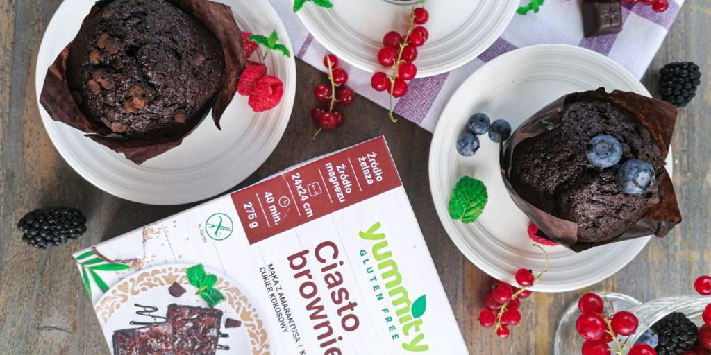 Czekoladowe muffinki z amarantusem Yummity